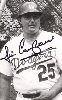 JIM CAMPANIS - AUTOGRAPHED SIGNED PHOTOGRAPH
