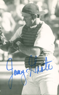 JERRY GROTE - AUTOGRAPHED SIGNED PHOTOGRAPH