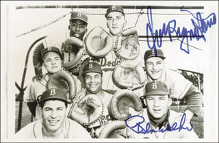 RUBE WALKER - AUTOGRAPHED SIGNED PHOTOGRAPH CO-SIGNED BY: JOE PIGNATANO