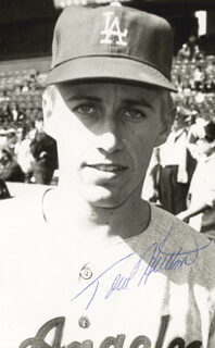 TOM HUTTON - AUTOGRAPHED SIGNED PHOTOGRAPH