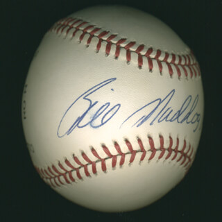 BILL MADLOCK JR. - AUTOGRAPHED SIGNED BASEBALL