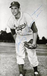 JOHNNY KLIPPSTEIN - AUTOGRAPHED SIGNED PHOTOGRAPH