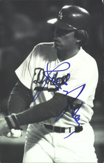 RICK MONDAY - AUTOGRAPHED SIGNED PHOTOGRAPH
