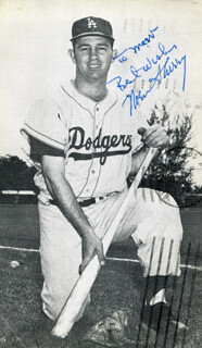 NORM SHERRY - AUTOGRAPHED INSCRIBED PHOTOGRAPH CIRCA 1962