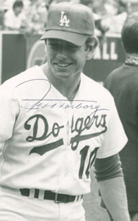 JEFF TORBORG - AUTOGRAPHED SIGNED PHOTOGRAPH