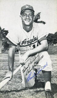 CHARLEY SMITH - AUTOGRAPHED SIGNED PHOTOGRAPH