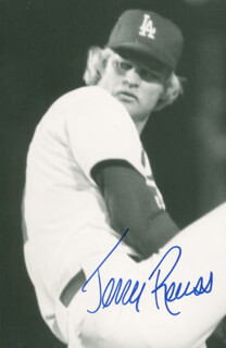 JERRY ROLLS REUSS - AUTOGRAPHED SIGNED PHOTOGRAPH