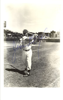 JIM BAXES - AUTOGRAPHED SIGNED PHOTOGRAPH