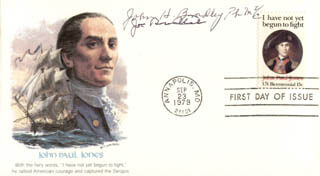 JOE ROSENTHAL - FIRST DAY COVER SIGNED CO-SIGNED BY: JOHN H. BRADLEY