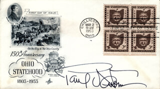 PAUL NEWMAN - FIRST DAY COVER SIGNED