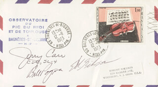 COLONEL GERALD P. JERRY CARR - SPECIAL COVER SIGNED CO-SIGNED BY: EDWARD G. GIBSON, COLONEL WILLIAM R. BILL POGUE