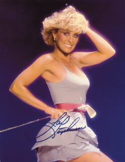 JAN STEPHENSON - AUTOGRAPHED SIGNED PHOTOGRAPH