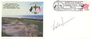HALE IRWIN - COMMEMORATIVE ENVELOPE SIGNED