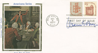 CHIEF JUSTICE WARREN E. BURGER - FIRST DAY COVER SIGNED