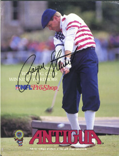 PAYNE STEWART - AUTOGRAPHED SIGNED PHOTOGRAPH