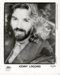 KENNY LOGGINS - AUTOGRAPHED INSCRIBED PHOTOGRAPH