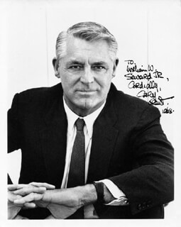 CARY GRANT - AUTOGRAPHED INSCRIBED PHOTOGRAPH 1968