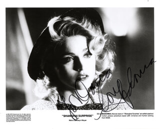 MADONNA - AUTOGRAPHED INSCRIBED PHOTOGRAPH