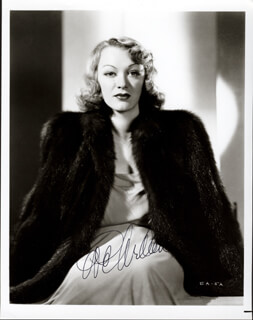 EVE ARDEN - AUTOGRAPHED SIGNED PHOTOGRAPH