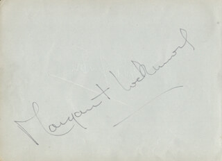 MARGARET LOCKWOOD - AUTOGRAPH CO-SIGNED BY: FRANK LAWTON, EVELYN LAYE