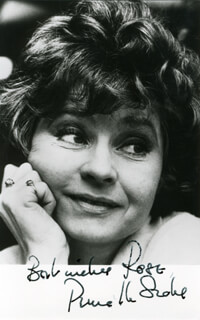 PRUNELLA SCALES - AUTOGRAPHED INSCRIBED PHOTOGRAPH