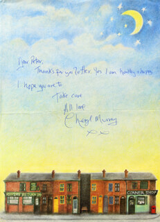 CHERYL MURRAY - AUTOGRAPH LETTER SIGNED