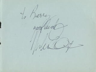 DUKE ELLINGTON - AUTOGRAPH NOTE SIGNED