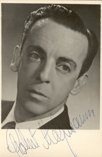 ROBERT HELPMANN - AUTOGRAPHED SIGNED PHOTOGRAPH
