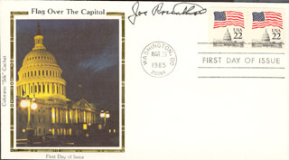 JOE ROSENTHAL - FIRST DAY COVER SIGNED