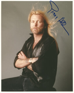 Autographs: THE ALLMAN BROTHERS (GREGG ALLMAN) - PHOTOGRAPH SIGNED