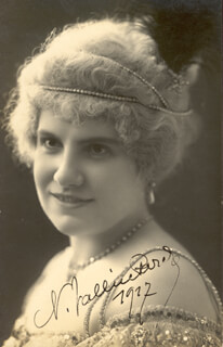 NINON VALLIN - AUTOGRAPHED SIGNED PHOTOGRAPH 1927