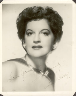 ASTRID VARNAY - AUTOGRAPHED INSCRIBED PHOTOGRAPH 1954