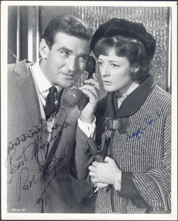 YOUNG CASSIDY MOVIE CAST - AUTOGRAPHED SIGNED PHOTOGRAPH CO-SIGNED BY: DAME MAGGIE SMITH, ROD TAYLOR