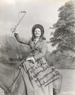 MARGARET LOCKWOOD - AUTOGRAPHED INSCRIBED PHOTOGRAPH