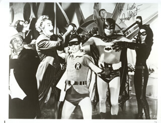 ADAM WEST - AUTOGRAPHED INSCRIBED PHOTOGRAPH