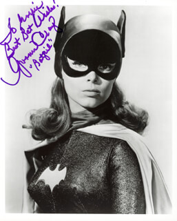 YVONNE CRAIG - AUTOGRAPHED INSCRIBED PHOTOGRAPH