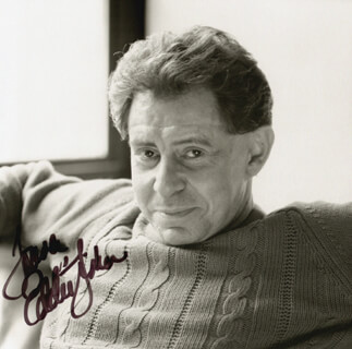 EDDIE FISHER - AUTOGRAPHED SIGNED PHOTOGRAPH