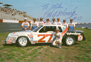 CALE YARBOROUGH - INSCRIBED PICTURE POSTCARD SIGNED CIRCA 1981