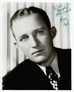 BING CROSBY - AUTOGRAPHED INSCRIBED PHOTOGRAPH
