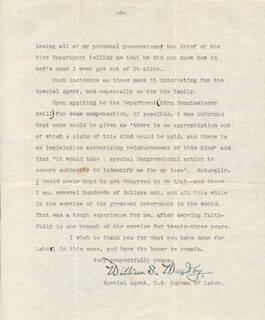 WILLIAM S. WAUDBY - TYPED LETTER SIGNED 01/31/1908
