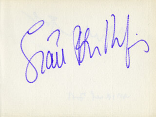 SIAN PHILLIPS - AUTOGRAPH