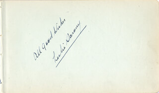Autographs: LESLIE SARONY - AUTOGRAPH SENTIMENT SIGNED CO-SIGNED BY: JACK HULBERT