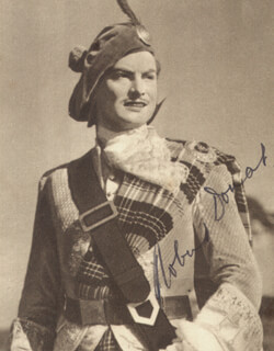 ROBERT DONAT - AUTOGRAPHED SIGNED PHOTOGRAPH