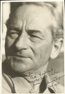 SELWYN JEPSON - AUTOGRAPHED INSCRIBED PHOTOGRAPH 10/1975