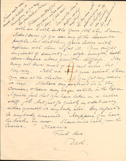 CHARLES COBORN - AUTOGRAPH LETTER SIGNED 12/14/1928