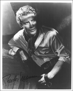 THEODOR UPPMAN - AUTOGRAPHED SIGNED PHOTOGRAPH