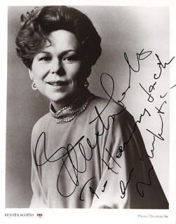 RENATA SCOTTO - AUTOGRAPHED INSCRIBED PHOTOGRAPH
