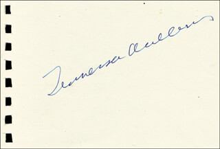 TENNESSEE WILLIAMS - AUTOGRAPH