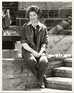 GLENDA JACKSON - AUTOGRAPHED INSCRIBED PHOTOGRAPH
