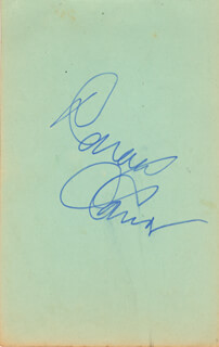 DONALD O'CONNOR - AUTOGRAPH